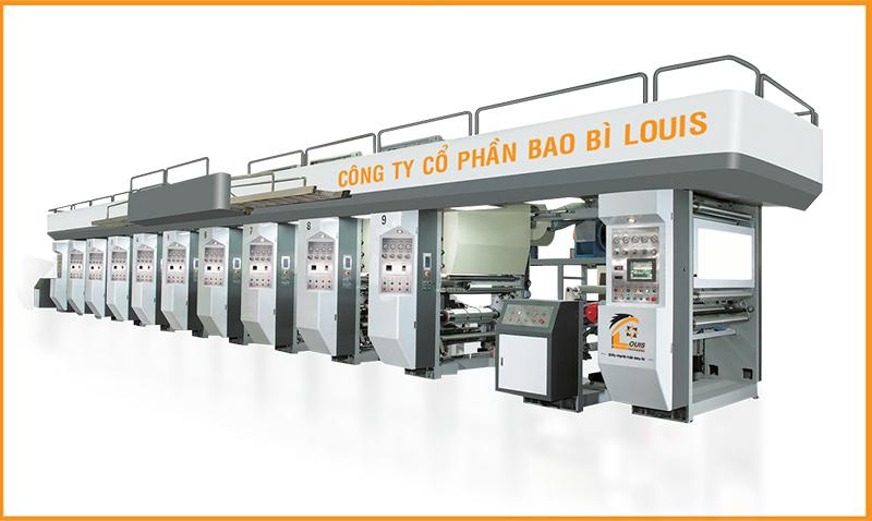 Hệ thống máy in công nghệ ống đồng