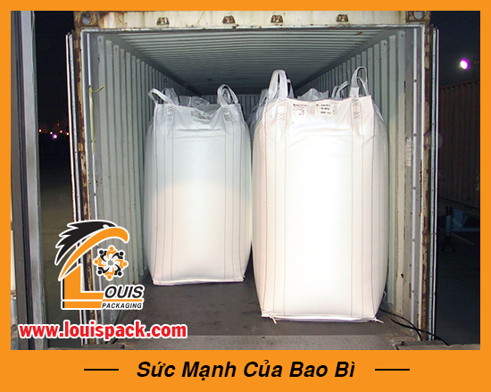 Bao jumbo đóng container 1 lớp