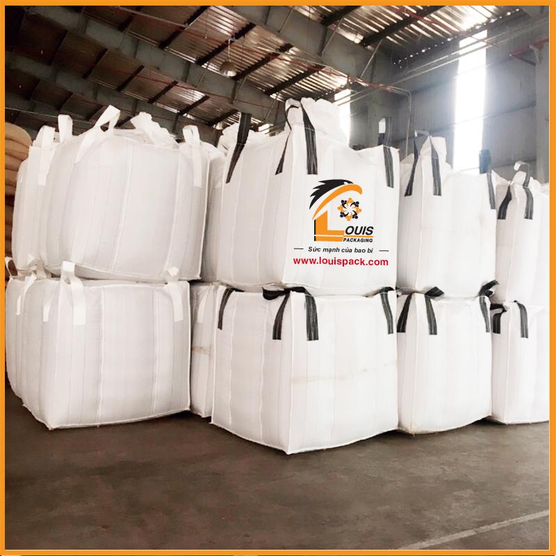 Bao Jumbo đựng 1 tấn cà phê xuất khẩu