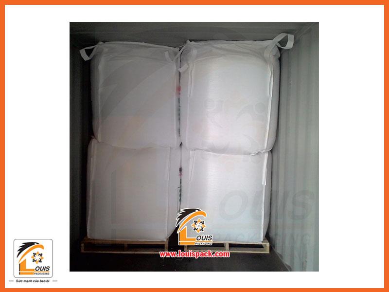 Phương pháp đóng bao Jumbo vào container - Louispack