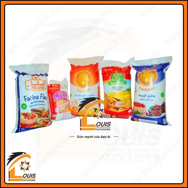 Sản phẩm bao PP đựng thực phẩm - Louispack