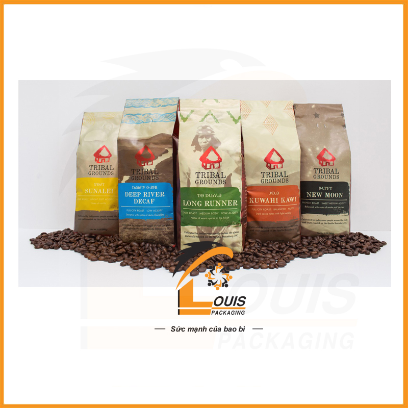 Bao bì cà phê dạng túi