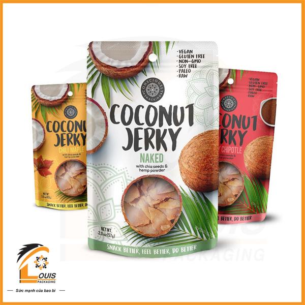 Bao bì đựng dừa sấy