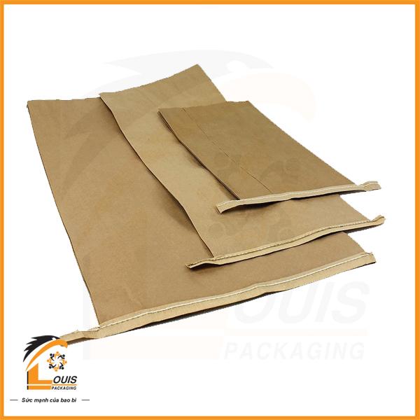 Bao giấy kraft được ứng dụng ngày càng phổ biến để chứa đựng sản phẩm từ 5kg – 25kg