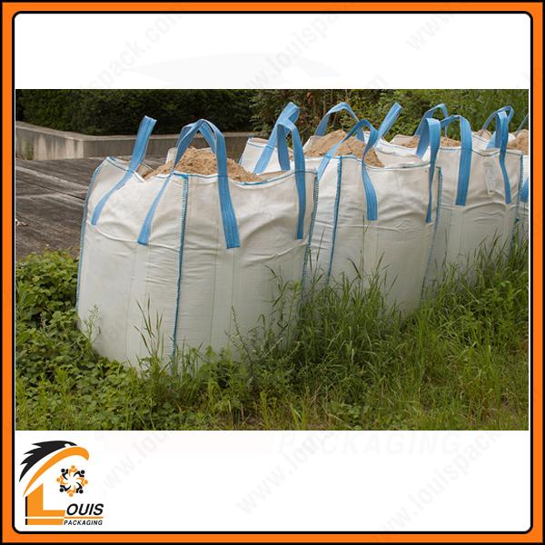 Bao jumbo thường được sử dụng để đựng cát công trình và cát xuất khẩu
