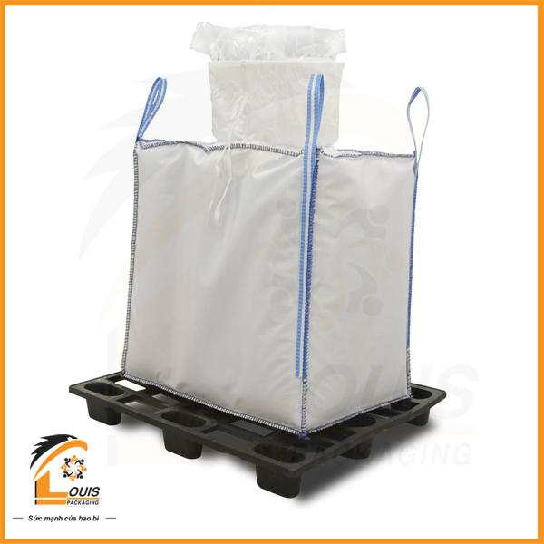 Bao bì jumbo thường được sử dụng để đựng các loại nông sản như lúa gạo, tiêu, cà phê