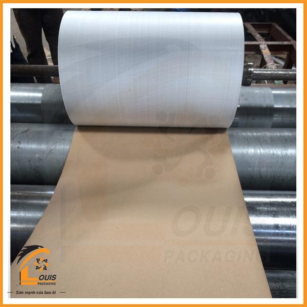 Bao KP được tạo thành bằng cách ghép giấy kraft với PP dệt