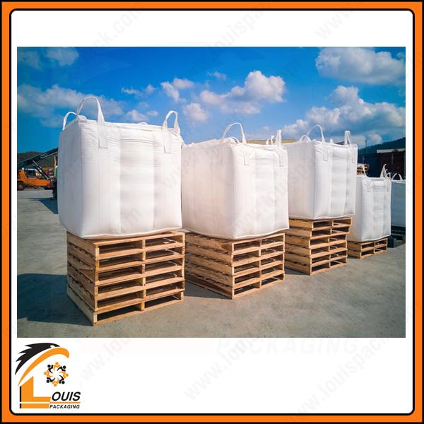 Bao jumbo được sử dụng phổ biến nhất để đựng hàng hóa với khối lượng 1 tấn