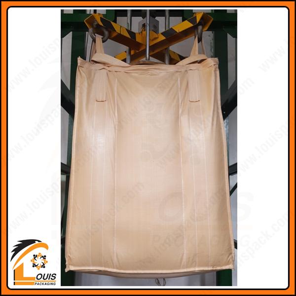 Bao jumbo thường được sử dụng để đựng than dạng thỏi, viên hoặc bột