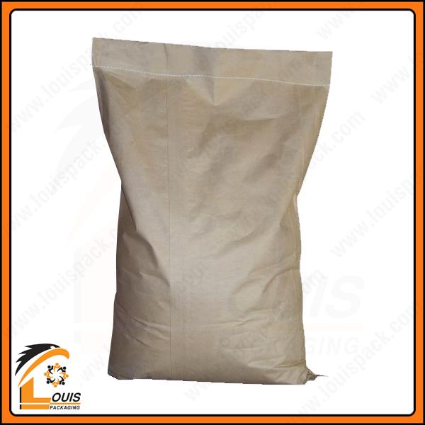 Bao giấy kraft thường có kiểu dáng may nẹp đáy, xếp hông