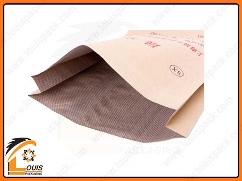 Bao 25kg giá tốt đựng hạt nhựa, hóa chất, bột trét tường thường sử dụng chất liệu KP