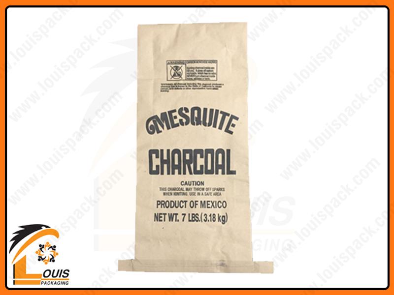Bao bì giấy kraft là sản phẩm ưa chuộng để đựng than củi xuất khẩu