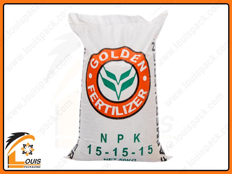 Bao bì phân bón 25kg – 50kg có rất nhiều chất liệu và quy cách khác nhau