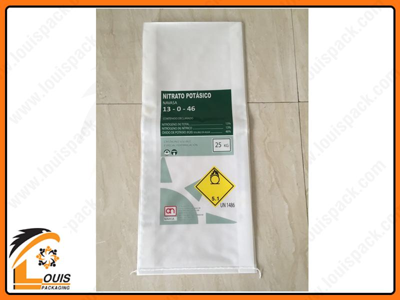 Bao PP dệt ghép màng OPP mờ là giải pháp bao bì phù hợp với phân bón cao cấp
