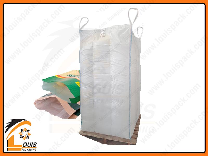 Sản phẩm hạt nhựa thường được đóng bao 25kg và bao jumbo từ 500kg – 1000kg