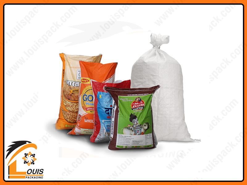 Bao bì PP dệt ghép màng OPP in ống đồng thường được sử dụng trong lĩnh vực phân bón, gạo, lúa giống….