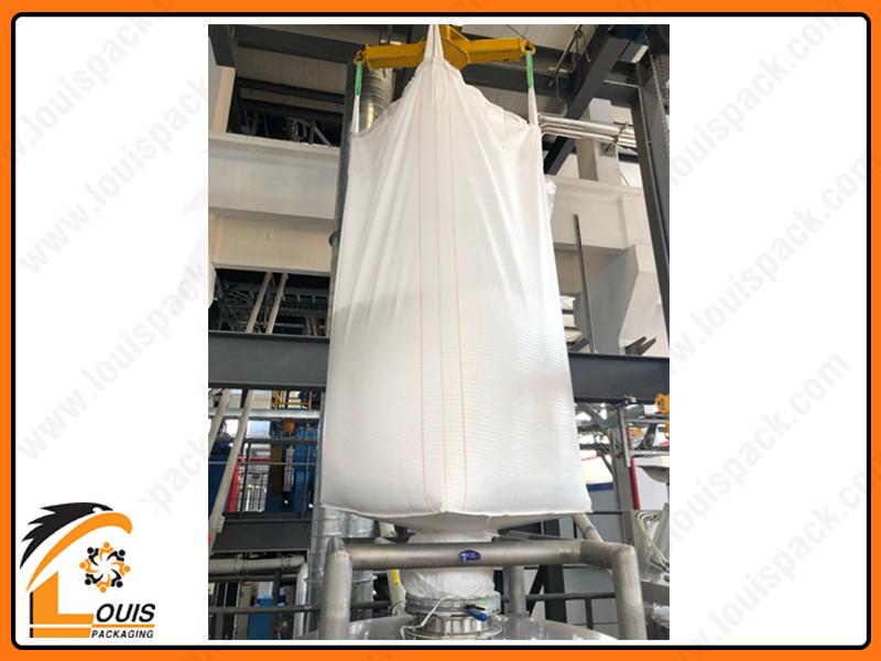 Bao jumbo đáy xả được xem là giải pháp bao jumbo an toàn, hiệu quả cho các sản phẩm dạng bột, viên, mảnh