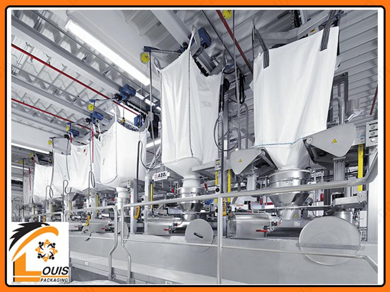Bao jumbo đáy xả giúp môi trường nhà xưởng được sạch sẽ chuyên nghiệp