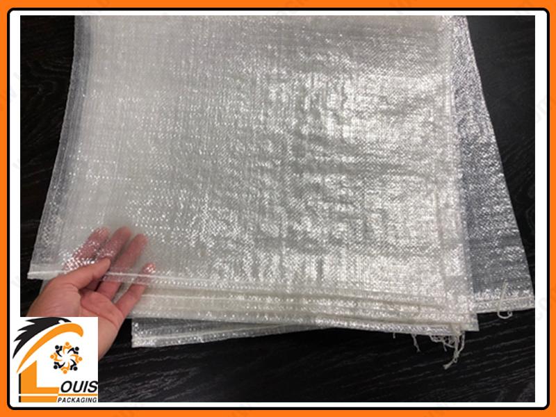 Bao pp dệt trong suốt đựng hàng hóa an toàn hiệu quả từ 5kg – 50kg với tính năng nhìn thấy sản phẩm bên trong