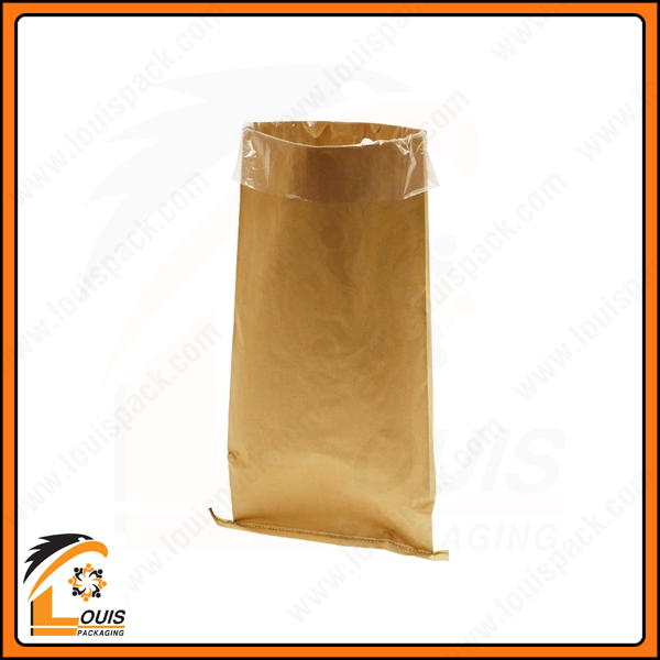 Bao bì giấy kraft đựng bột mì được xem là giải pháp đóng gói bao bì cao cấp ở trọng lượng 25kg