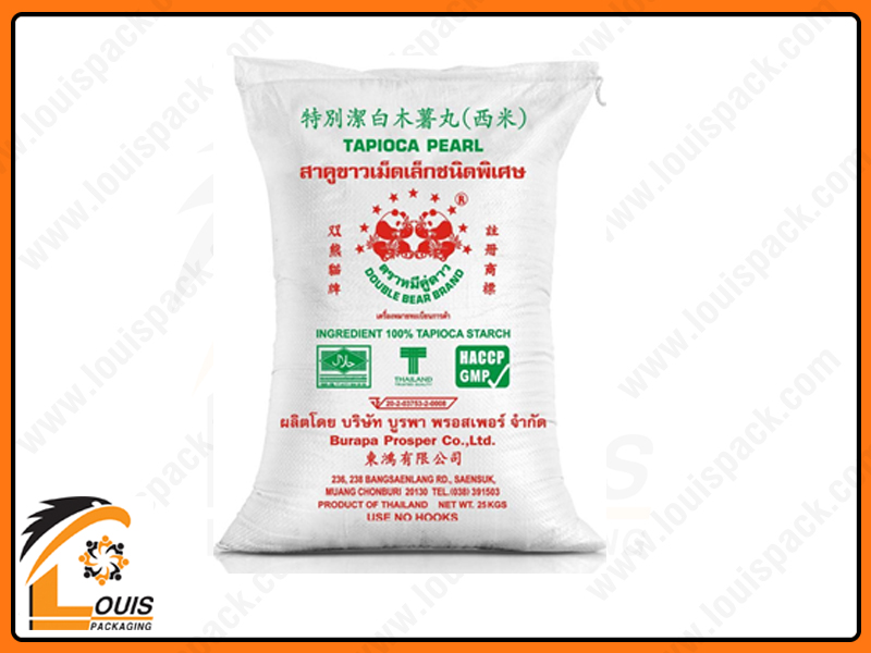 Bao PP dệt là loại bao bì được sử dụng phổ biến nhất trong ngành bột mì