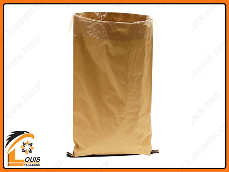 Bao giấy kraft là giải pháp bao bì mới được sử dụng cho bao đựng bột mì 25kg