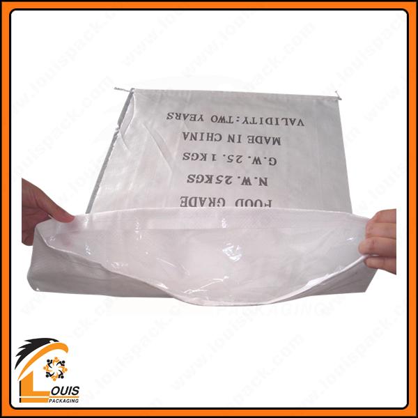 Bao PP dệt có tráng in flexo là giải pháp bao bì giá rẻ đựng hạt nhựa 25kg