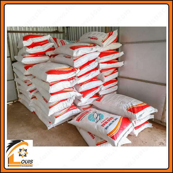 Bao PP dệt in flexo là giải pháp bao bì giá rẻ đựng thức ăn thủy sản