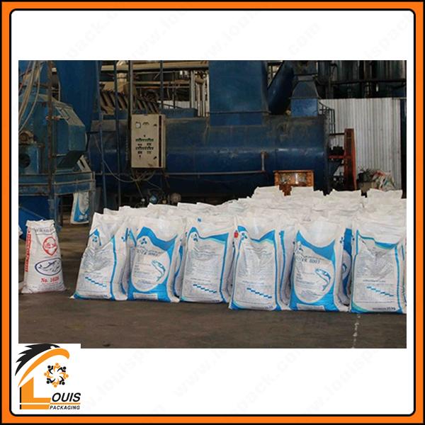 Bao PP in flexo là giải pháp bao bì giá rẻ được sử dụng trong sản xuất bột cá và thức ăn gia súc.